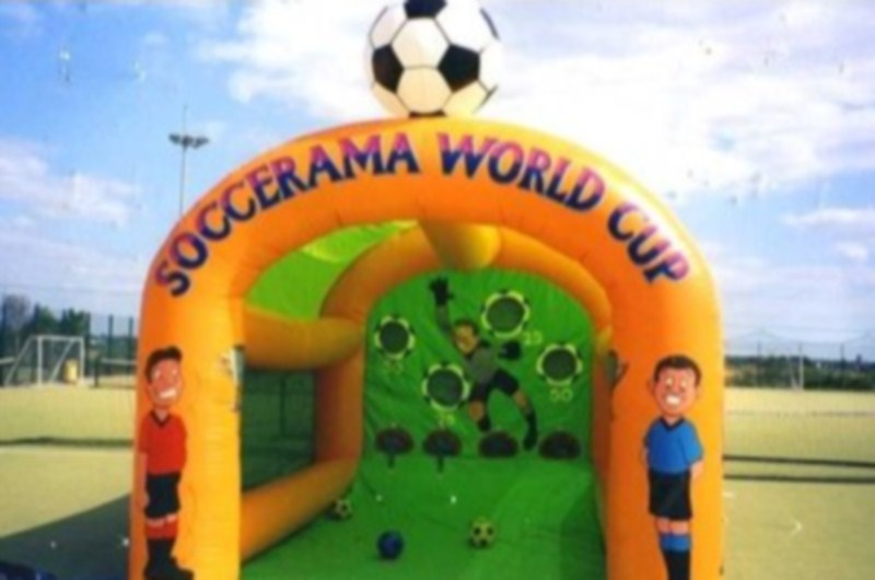Beat the Goalie - North West Funfairs Soccer News