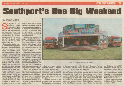 Southport Funfair Press Release